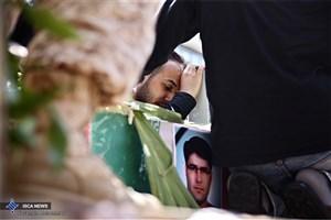 مراسم بزرگداشت شهدای حمله تروریستی اخیر در مسجد و مدرسه عالی شهید مطهری
