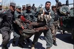 کشته شدن نیروهای پلیس افغانستان در حمله هوایی آمریکا