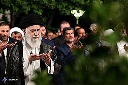 مراسم سوگواری حضرت امیرالمؤمنین (ع) با حضور رهبر معظم انقلاب برگزار شد