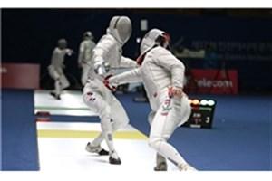 ورزشکاران دانشگاه آزاد اسلامی در راه رقابتهای شمشیربازی قهرمانی آسیا