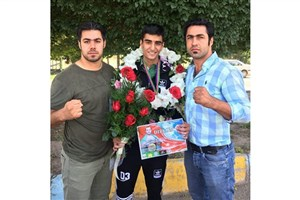Sirjan IAU Student Runner-Up at Azerbaijan Kickboxing Tournament