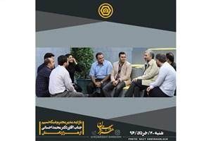 محمد احسانی مدیر تازه شبکه نسیم به پشت صحنه «هزار داستان» رفت
