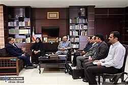 دیدار جمعی از نمایندگان مجلس شورای اسلامی با دکتر علی محمد نوریان