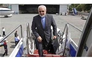 ظریف راهی تهران شد