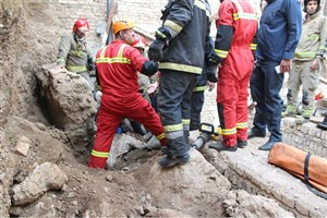 ریزش آوار به هنگام گود برداری/یک کارگر افغانستانی کشته شد