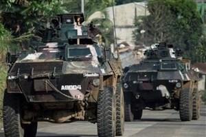 ارتش فیلیپین: تروریستها ۲۰ درصد شهر «مراوی» را در تصرف دارند