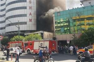 جزئیات آتش سوزی ساختمان اداری در بلوار کشاورز/تصویر