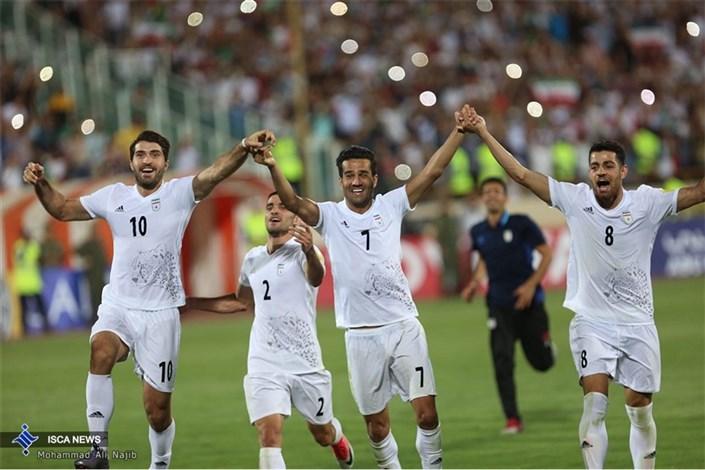گزارش تصویری از صعود تیم ملی ایران به جام جهانی 2018