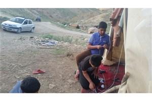 با ابتکار دو دانش آموز سما یاسوج، چشم و چراغ 8 خانوار عشایری و روستایی روشن شد !