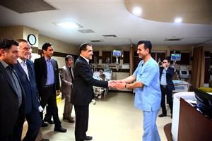 بازدید شبانه وزیر بهداشت از بیمارستان لقمان / دستور دکتر هاشمی برای تامین کمبودهای این بیمارستان