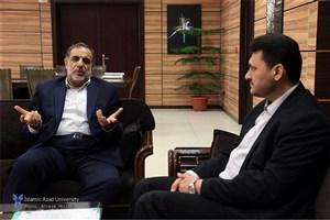 تلاش و اهتمام نماینده شهرستان در رفع مشکلات دانشگاه آزاد اسلامی واحد گلپایگان