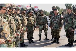 ادامه عملیات در پنج محور در منطقه بیابانی سوریه