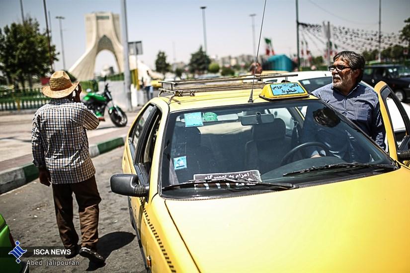 رانندگان تاکسی در ماه مبارک رمضان