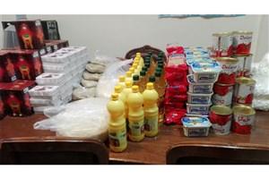 اهداءسبد کالا بین محلات کم برخوردار منطقه 13