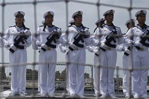آغاز تمرین مشترک ناوهای نیروی دریایی ارتش ایران و چین
