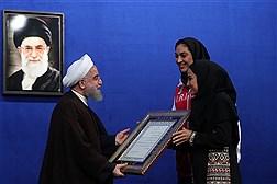 دکتر روحانی در ضیافت افطار با ورزشکاران