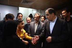 صدور دستورات لازم  برای رفع کمبودهای بیمارستان  آیت الله طالقانی و کودکان مفید توسط وزیر بهداشت
