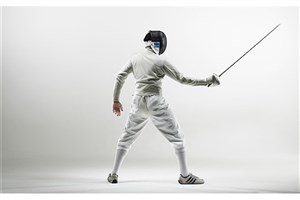 Rasht IAU Student Ranks 2nd in the 2017 Asian Fencing Championships