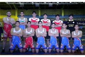 ترکیب تیم ملی کشتی فرنگی جوانان برای مسابقات صربستان