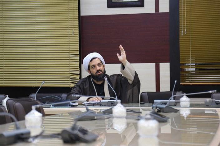 حجت الاسلام صادق اکبری اقدم مسئول نهاد رهبری دانشگاه علامه طباطبایی