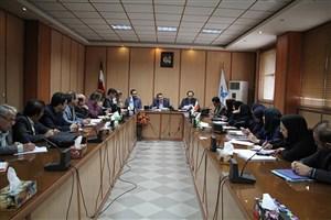 جلسه هماهنگی برگزاری مصاحبه آزمون دکتری تخصصی دانشگاه آزاد اسلامی استان گیلان