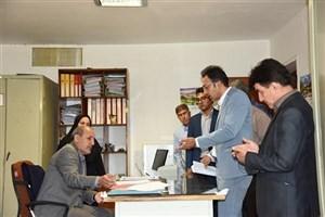 بازدید سرزده رئیس دانشگاه آزاد اسلامی استان فارس از واحد فیروزآباد