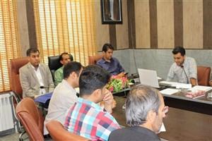 نخستین جلسه دفاع از پایان نامه ارشد دانشگاه آزاد اسلامی بیضا برگزار شد