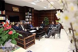دیدار جمعی از اساتید دانشگاه آزاد با دکتر نوریان