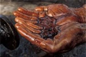 نشت نفت در شهر اهواز