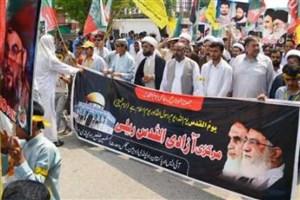 فریاد 'مرگ بر اسرائیل' در سراسر پاکستان طنین انداز شد