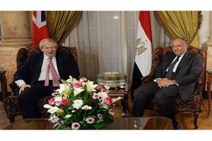 گفتوگوی وزرای خارجه مصر و انگلیس درباره بحران قطر