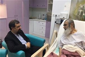 عیادت دبیر مجمع تشخیص مصلحت نظام  ازآیت الله مظاهری