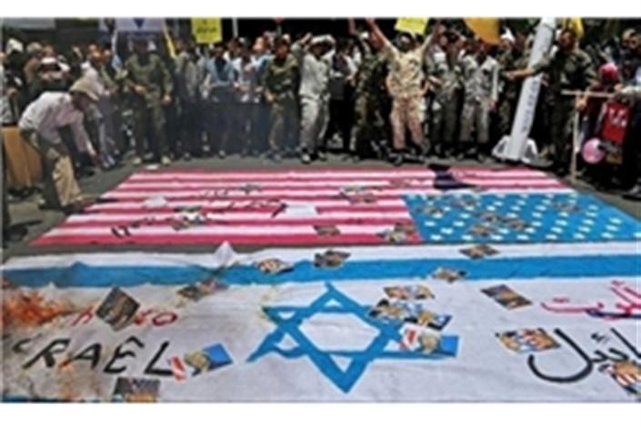 گزارش لسآنجلس تایمز از مراسم روز قدس/آمادگی سربازان آیتالله خامنهای در دفاع از حرمین مقدس در عراق و سوریه