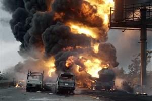 ویدیو انفجار دوم در منطقه لوهانسک اوکراین