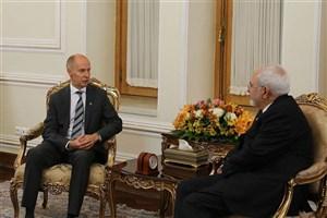 دیدار ظریف با سفیر فنلاند در ایران