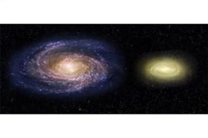 کهکشانی که با نظریه ایجاد کهکشانها متضاد است