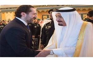 دیدار سعد حریری با پادشاه و ولیعهد عربستان پس از اقامه نماز عیدفطر