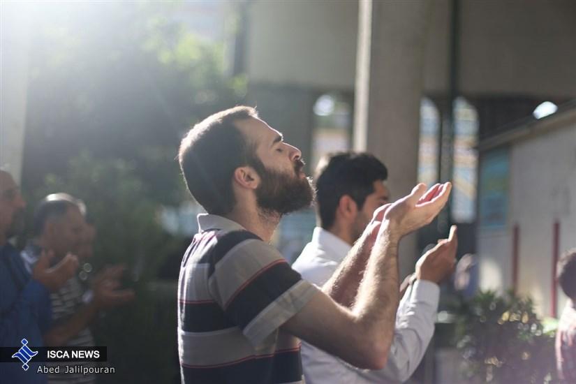 نماز عید فطر در امام زاده صالح