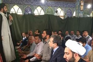 دیدار عیدانه عراقچی با پدر شهید مرتضی صادقی