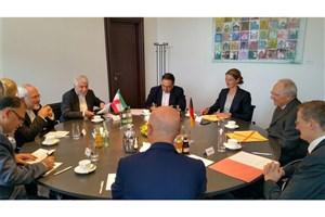 دیدار ظریف با وزیر دارایی آلمان