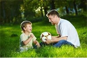 توجه پدر راهی برای کاهش چاقی در کودک