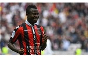 آرسنال علاقهمند به جذب ستاره ساحل عاجی نیس!