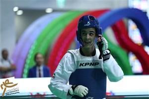 حسینی با شکست مقابل قهرمان المپیک به مدال نقره رسید