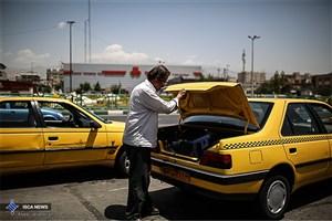 برخورد با تاکسیهای فاقد پروانه هوشمند تاکسیرانی