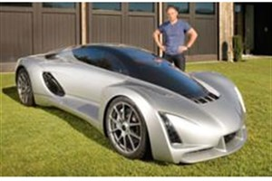 اولین خودروی چاپ سه بعدی شده جهان رونمایی شد