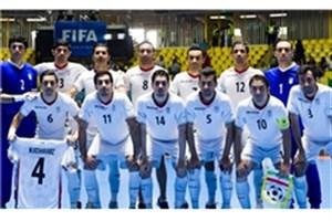 تیم ملی فوتسال ایران در رده ششم جهان و اول آسیا ماند