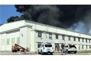 انفجار در پایگاه هوایی آمریکا در فلوریدا