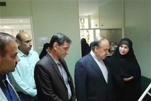عیادت وزیر ورزش از کیمیا علیزاده