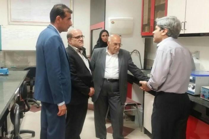 بازدید معاون علوم پزشکی دانشگاه آزاد اسلامی و هیات نظارت وزارت علوم از واحد نیشابور