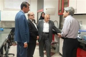 بازدید معاون علوم پزشکی دانشگاه آزاد اسلامی و هیات ارزشیابی وزارت بهداشت، درمان و آموزش پزشکی از واحد نیشابور